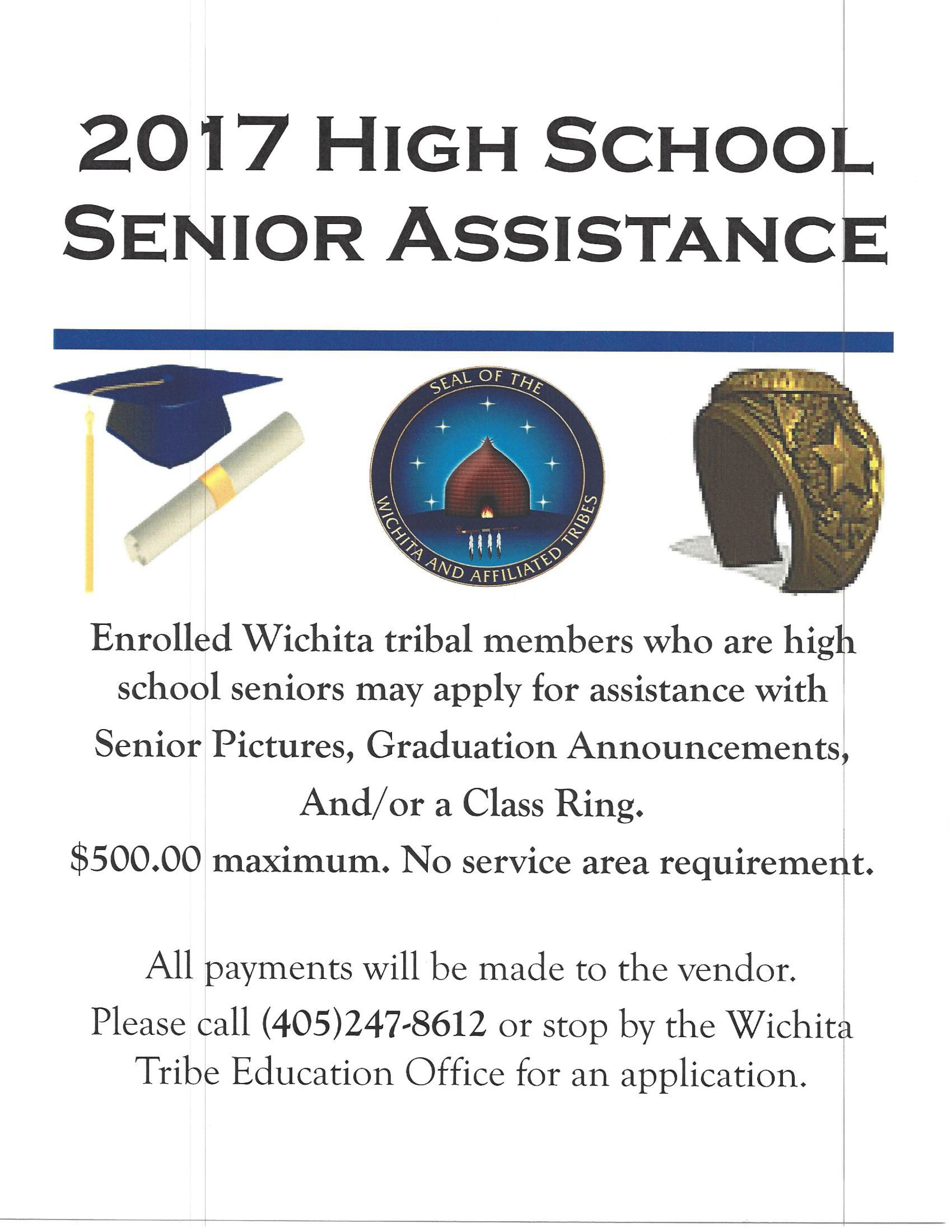 2017 High School Senior Assistance