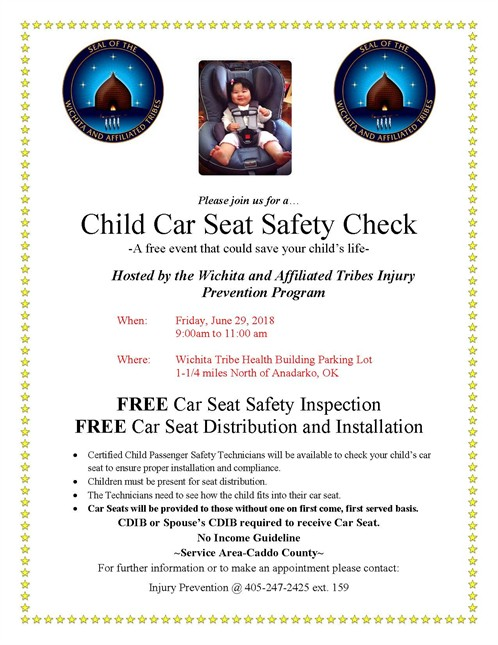 June 2018 Car Seat Check