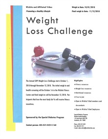 2018 Weight Loss Challenge