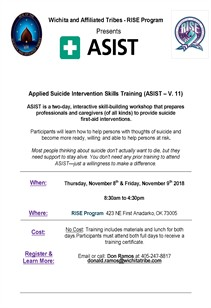 Asist Training Nov 2018