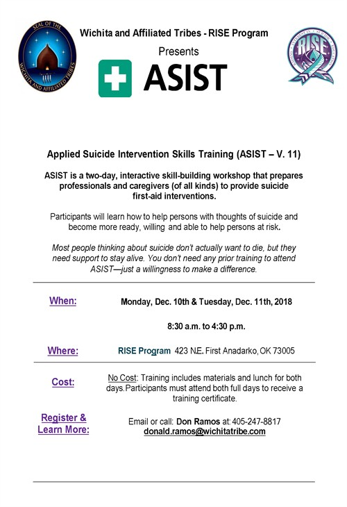 ASIST Training Dec 2018