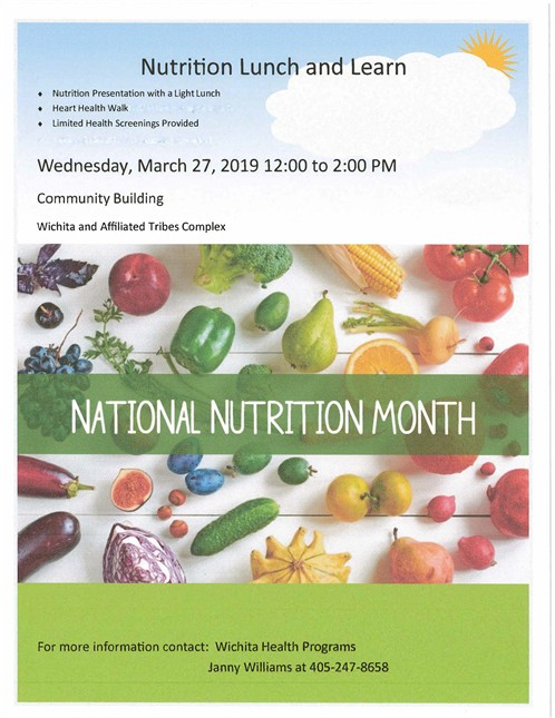 Nutrition Lunch & Learn