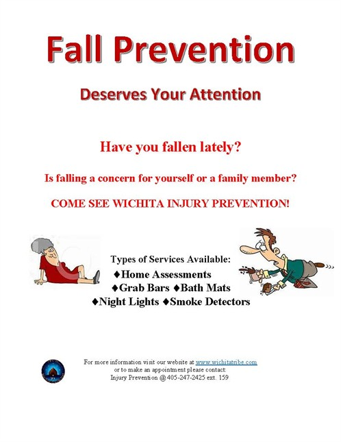 Fall Prevention Flyer
