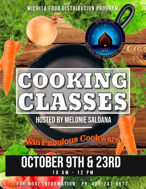 October 2019 Cooking Classes
