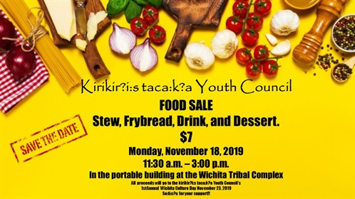 Youth Council Food Sale